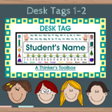Desk Tags 1-2 (Personalize)