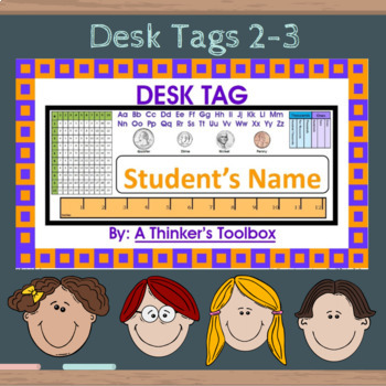 Desk Tags 2-3 (Personalize)