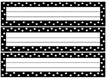 Desk Tags Desk Plates for Students