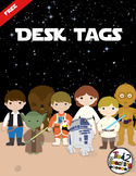 Desk Tags (Stars Wars Inspired) EDITABLE