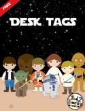 Desk Tags (Stars Wars Inspired) EDITABLE