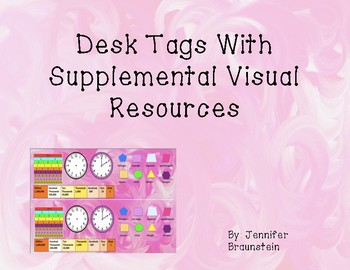 Desk Tags With Supplemental Visual Resources (revised)