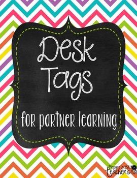 Desk Tags for Partner Learning