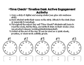Desk Time Checks