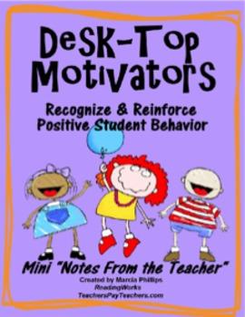 Desk-Top Motivators!