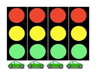 Desk Traffic Light