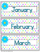 Editable Desk Name Tags Chair Name Tags Plus Calendar Decor