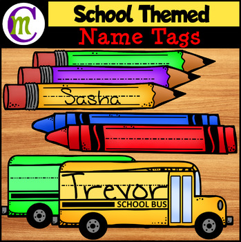 Desk and Locker Name Tags