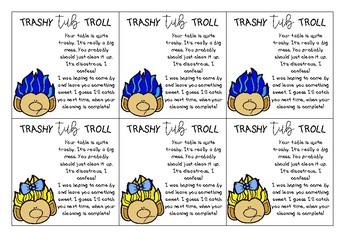 Desk and Tub Troll