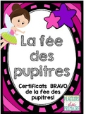 Desk fairy coupons - FRENCH - La fée des pupitres