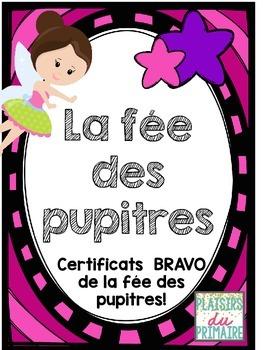 Desk fairy coupons - FRENCH - La fée des pupitres