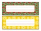 Desk nametag pack- all major holidays and themes