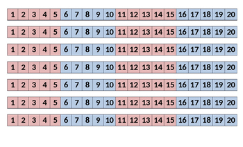 Number paths to 20