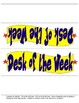 Desk of the Week - Display Recognition