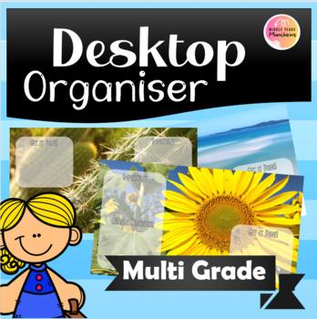 Desktop Background Organisers!