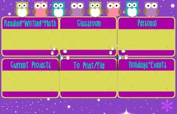 Desktop Background Organizer (Bright OWL Theme)