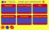 Desktop Background Organizer (SuperHero Theme)