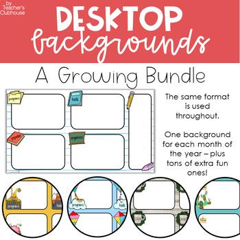 Desktop Backgrounds Worksheets Teaching Resources Tpt