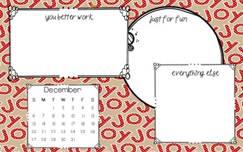 Desktop Backgrounds ~ December FREEBIE