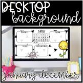 Desktop Backgrounds: January-December 2018