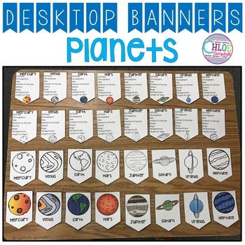 Planet Facts: Desktop Banner