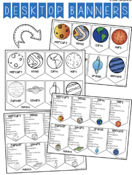 Planet Facts: Desktop Banner
