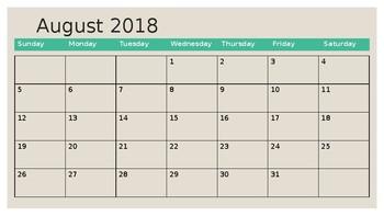 Desktop Calendar and Planner Full Version