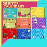 Desktop Calendars- 2020