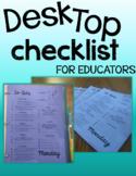 Desktop Checklist