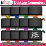Desktop Computer Clip Art: Classroom Technology Graphics {Glitter Meets Glue}