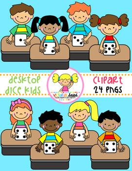 Desktop Dice Kids Clipart