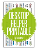 Desktop Helper Printable FREEBIE