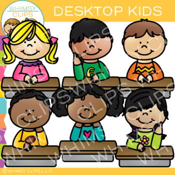 Desktop Kids Clip Art