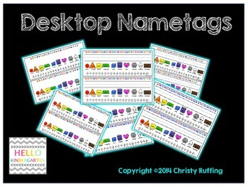 Desktop Name Tags
