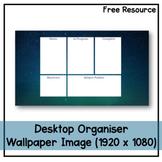 Desktop Organiser Wallpaper 9 - Space