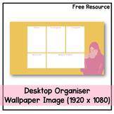 Desktop Organiser Wallpaper 2 - Coffee Break