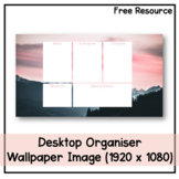 Desktop Organiser Wallpaper 3 - Mountains