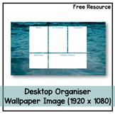 Desktop Organiser Wallpaper 7 - Ocean