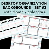 Desktop Organization Backgrounds #3