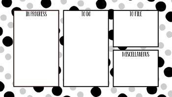 Desktop Organization Backgrounds #4
