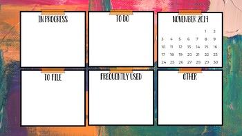 Desktop Organization Backgrounds #5