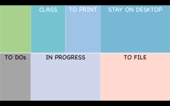 Desktop Organization Image