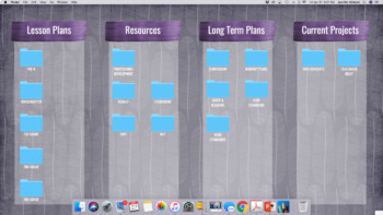 Desktop Organizers: feather themed