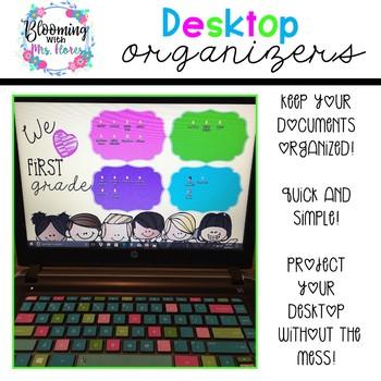 Desktop Organizers (Growing Resource)