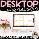 Desktop Organizers {Chic & Glam Organizers for Your Computer's Desktop}
