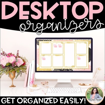 Desktop Organizers {Chic & Glam Organizers for Your Comput