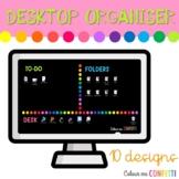 Desktop Organizers - Colour me Confetti