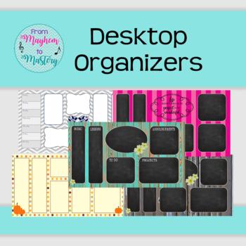 Desktop Organizers for Teachers (or anyone!)