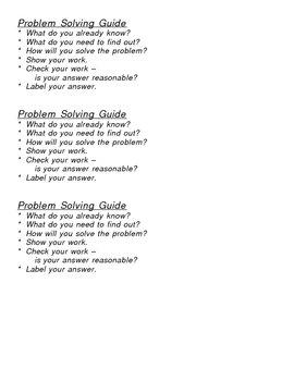 Desktop Problem Solving Guide