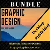 Desktop Publishing Bundle includes Canva and Microsoft Publisher